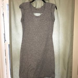 Comfortable athlete dress with open back